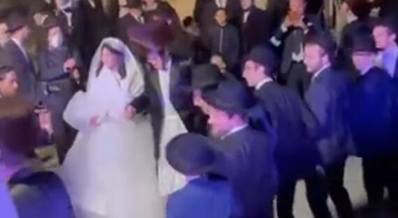 Krátka reportáž zo svadby slávnych rodín vo Viedni