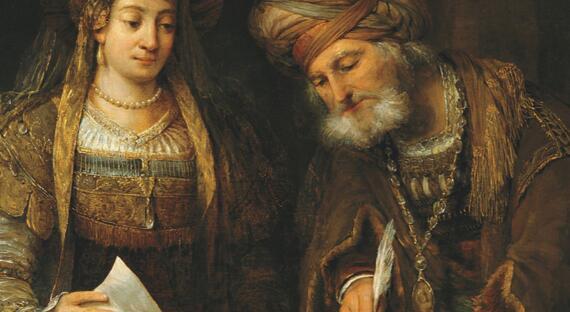 Košer podcast: Kráľovná Ester a zlý Haman (sviatok Purim)