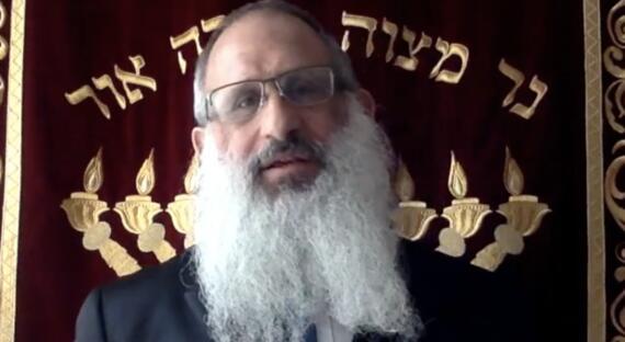 Hlavný rabín ŽNO BA Baruch Myers a Ki Tisa
