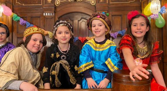 Purimove Divadielko pre deti
